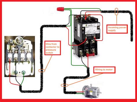 Single Phase Magnetic Contactor Wiring Diagram by Electrical Page Single Phase Motor Contactor Wiring Diagram