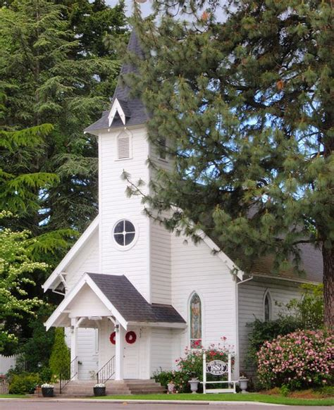 Pioneer Wedding Chapel 1884 Canby Oregon I Love Old