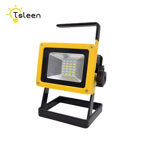 traveler led work lights tsleen waterproof 30w led flood light portable spotlight