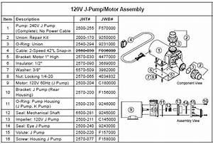 Jacuzzi Spa J Pump  120 Volts  2 Speed