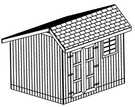 custom saltbox shed plans 10 x 12 shed detailed building