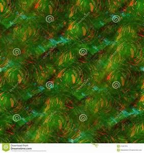 Background Green, Orange Watercolor Seamless Stock ...