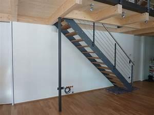 Stahl Holz Treppe : treppen feiner schreiner ~ Markanthonyermac.com Haus und Dekorationen