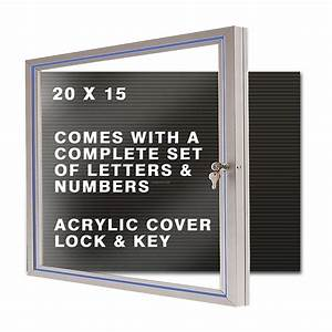 changeable letter board hinged cover 20quotx15quotchina With letter boards with changeable letters