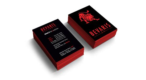 Business Card Services  Halo Design Studios