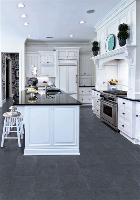 faroe midnight floor tile farmhouse kitchen