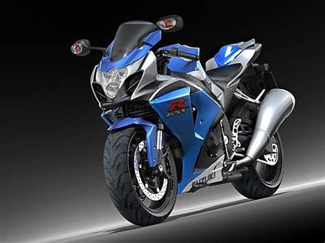 Suzuki Gsx-r 1000 Sport Motorcycle Vehicles 3d Models