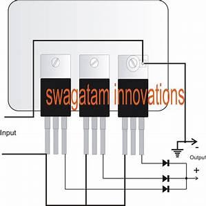 Connecting Voltage Regulators 78xx In Parallel For Higher