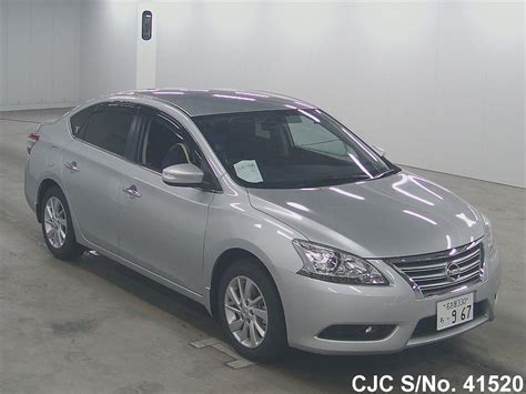 nissan bluebird 2014 nissan bluebird sylphy silver for sale stock no