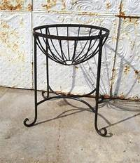 """wrought iron plant stands 22"""" Wrought Iron Stephanie Plant Stand - Pot Holder 