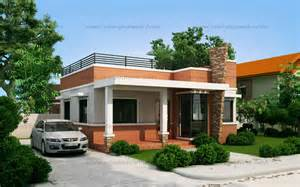 house designs rommell one storey modern with roof deck eplans modern house designs small house