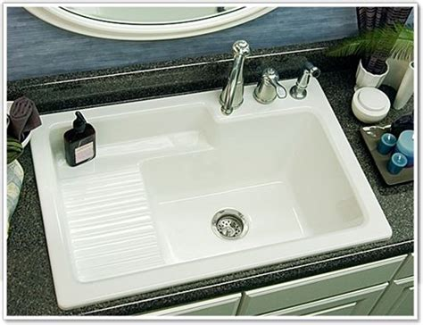 drop in laundry sink with washboard model 65 hamilton for mud room ideas