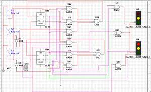 Design Of Traffic Light System