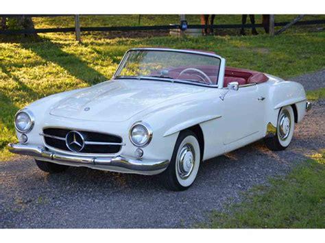 1960 Mercedesbenz 190sl For Sale  Classiccarscom  Cc