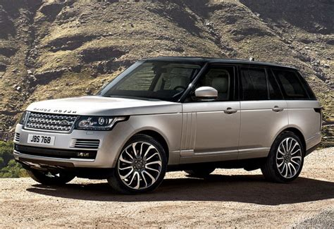 Top Luxury Suvs 2015 Land Rover Range Rover  Best Midsize Suv