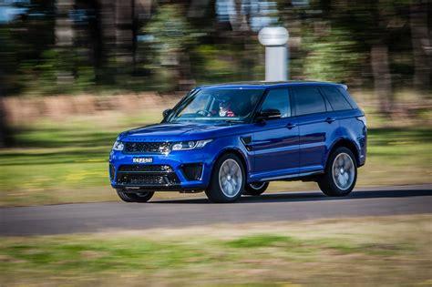 range rover svr 2015 range rover sport svr review caradvice