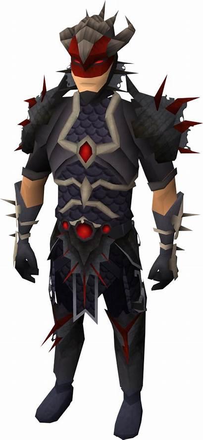 Armour Royal Runescape Dragonhide Hide Wiki Male