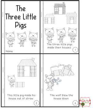 pigs emergent reader freebie