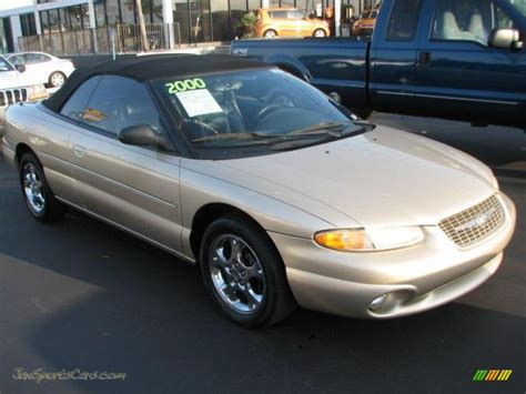 2000 Chrysler Sebring Jxi by 2000 Chrysler Sebring Jxi Convertible In Chagne Pearl