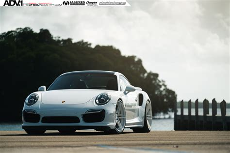 911 Turbo S Wheels by White Porsche 911 Turbo S On Adv 1 Wheels Is A To Look