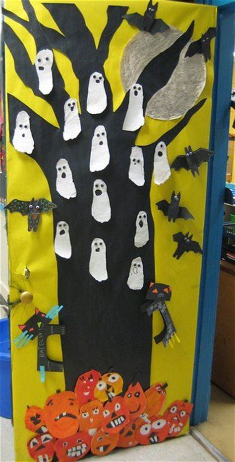 kindergarten door bulletin board 198 | Kindergarten Halloween Door Bulletin Board