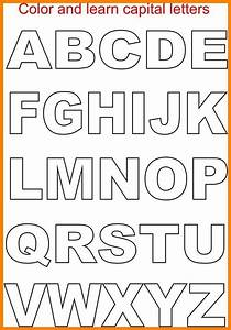 8 block letters templates letter adress With block letters with pictures inside