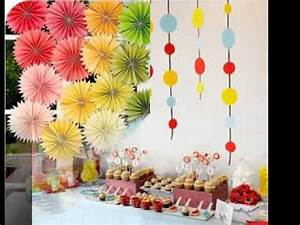 Diy kids party decorations ideas - YouTube