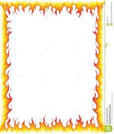 Fire Flames Clip Art Borders