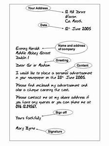 Sample Layout Formal Letter Format    Resumesdesign