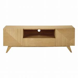Tv Wandhalterung Ausziehbar 150 Cm : meuble tv en bois l 150 cm origami maisons du monde ~ Yasmunasinghe.com Haus und Dekorationen