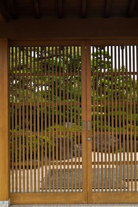 japanese lattice door fencing privacy screening gates