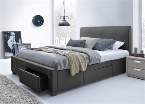 King Size Bed by Adding A King Size Platform Bed Frame In The Bedroom