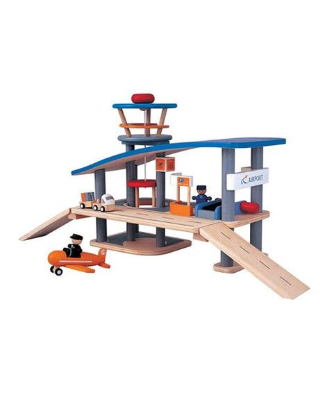airport set zulily ad love plan toys wooden playset