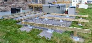 pin floating deck footings image search results on pinterest