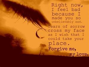 Please Forgive Me My Love Pictures, Photos, and Images for ...