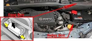 Fuse Box Diagram  U0026gt  Opel  Vauxhall Meriva A  2003