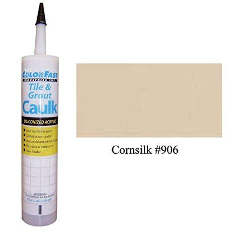 tec color matched caulk by colorfast unsanded 906