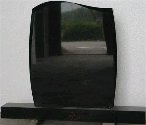 black granite tombstone monument headstone id 3631706