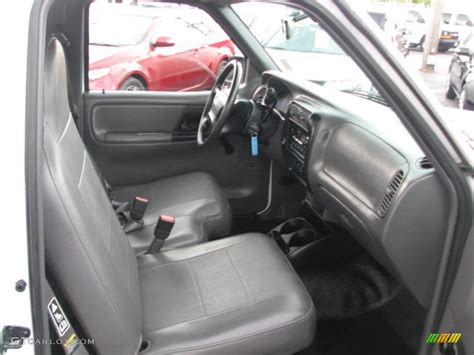 ford ranger xl interior graphite interior 2002 ford ranger xl regular cab photo 39886676 gtcarlot