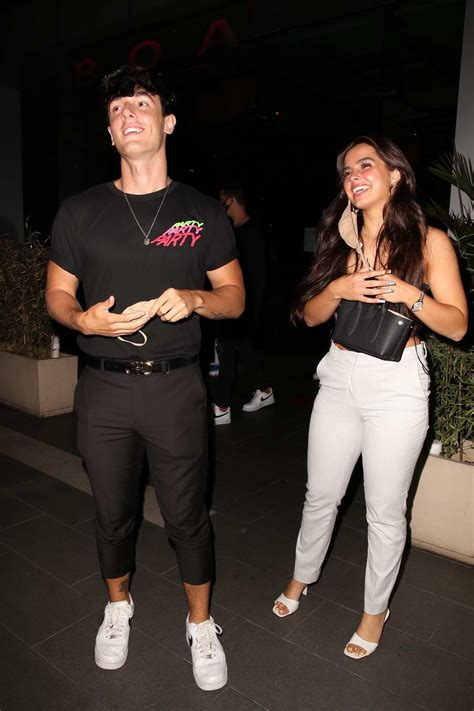 The drama between bryce hall and addison rae is still heating up and now, there's a new name in the mix. addison rae and bryce hall seen leaving boa restaurant in west hollywood, california-090720_3