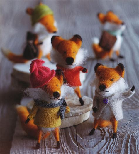foxy friends party christmas tree ornaments set