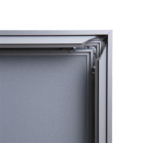 cornici in alluminio cornici a scatto in alluminio 70x100 compasso 37 mm av
