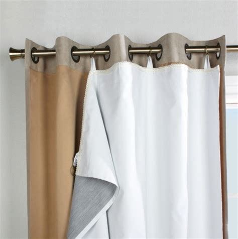 what is the standard length of a shower curtain eyelet