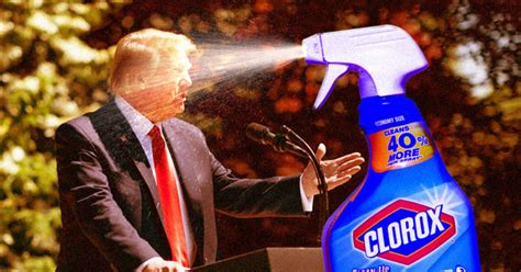 trump disinfectant uv injecting light suggests covid patients donald president elexonic april