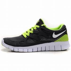 Nike Free Run+ 2 Womens Running Shoes Grey Green On Sale ...