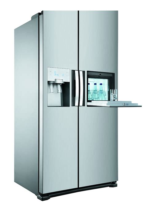 Siemens Kühlschrank Mit Eiswürfel by K 252 Hlschrank Mit Eisw 252 Rfelspender Samsung Rsa1utmg1