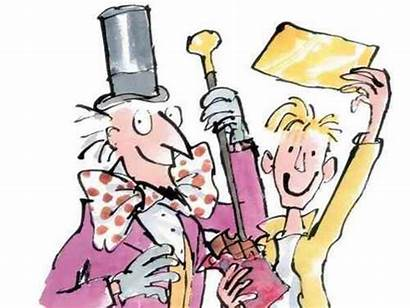 Charlie Chocolate Factory Wonka Clipart Willy Chapter