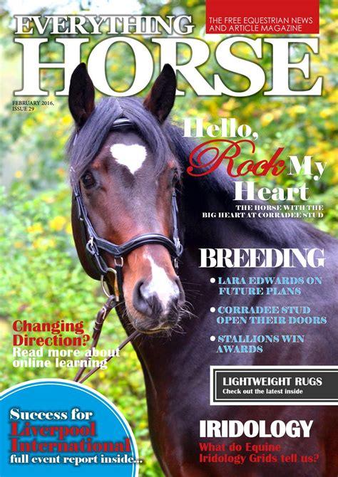 horse magazine february