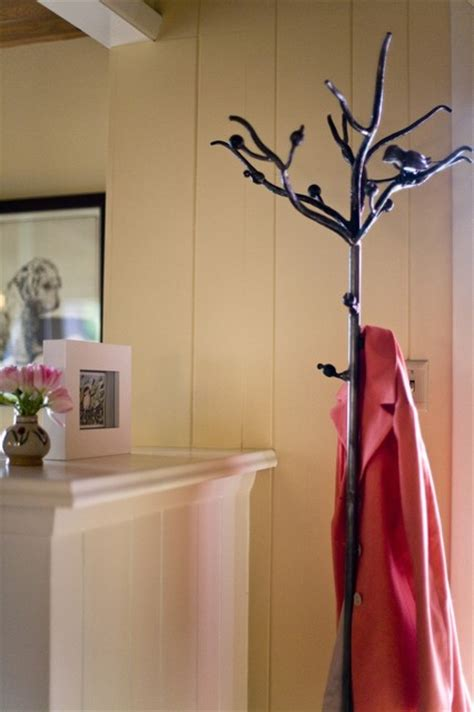 wrought iron bird  branch coat rack minneapolis