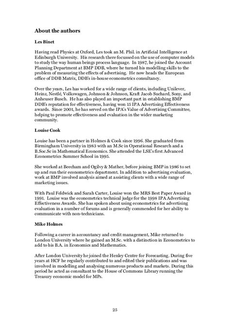 Econometrics Explained - IPA Report